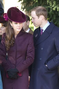 Kate and Will on Christmas!