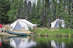 Glamping site waterview | Flickr - Photo Sharing!
