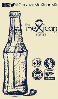 #cervezamexican #cervezaartesanal #beer #porter Beer, Root Beer, Ale
