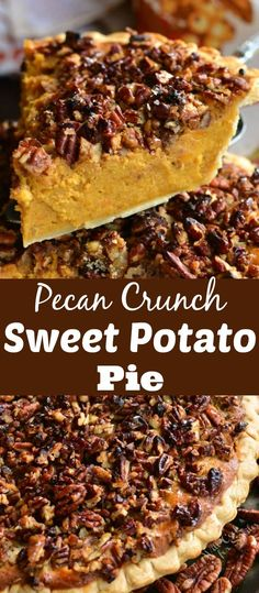 Low Carb Recipes To The Prism Weight Reduction Program Pecan Crunch Sweet Potato Pie. This Creamy, Sweet Potato Pie Will Make A Perfect Addition To Any Holiday Celebration And Maple Pecan Topping Adds A Delightful Crunchy Texture To Every Bite. Homemade Sweet Potato Pie, Sweet Potato Pound Cake, Sweet Potato Pecan Pie, Sweet Potato Cheesecake, Sweet Potato Dessert, Sweet Potato Biscuits, Sweet Potato Muffins, Paleo Sweet Potato, Sweet Potato Casserole