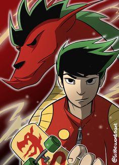 Jake Long -- American Dragon on JakeXRose - DeviantArt Cartoon As Anime, Chica Anime Manga, Cartoon Shows, Disney Channel, Old Cartoons, Disney Cartoons, Duelo Xiaolin, Disney Anime Style, Jake Long