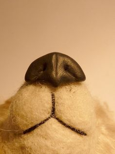 This is how I make my bears' noses. I love this way of doing noses as it gives me the chance to make realistic detailing on my animals.  To ...