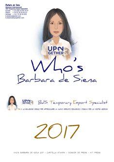 Who's Barbara de Siena UP2gether  2017