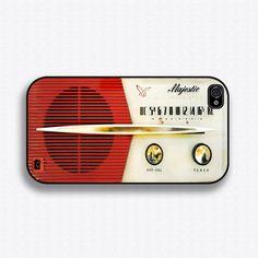 Vintage Majestic Radio iPhone Case