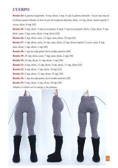 Crochet Dolls Free Patterns, Crochet Doll Pattern, Afghan Crochet Patterns, Amigurumi Patterns, Batman Amigurumi, Amigurumi Doll, Crochet Disney, Crochet Case, Knit Or Crochet