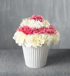 Cupcake or flowers - now you can have both!!
