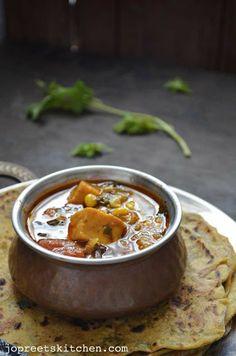 Paneer & Sweet Corn Curry