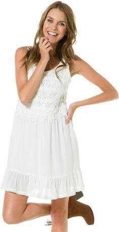 white summer dress--I beat you to it, Delie!