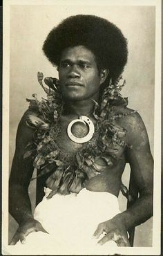 Fiji Man. Pinterest @sweetness
