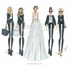 Oscars 2014: Glam Squad (Giuliana Rancic, Brenda Kovar, Catalina Su, Monica Rose, Sarah Knight)  [ www.brittanyfuson.com ]  #oscars