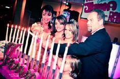 La ceremonia de las velas o ceremonia de las rosas
