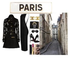 """""""Paris"""" by calliascloset on Polyvore featuring Burberry, Chanel, Rosanna, polyvorecommunity and PolyvoreMostStylish"""