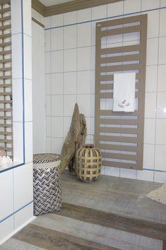 Radiateur sèche-serviettes Acova Karéna Spa - Expérience Déco by Acova avec Emmanuelle Rivassoux