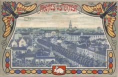 Frohes Osterfest. Libau 1916.