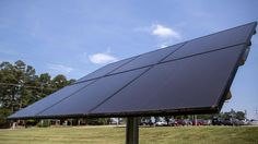 A grant could fund community solar systems in North Carolina.
