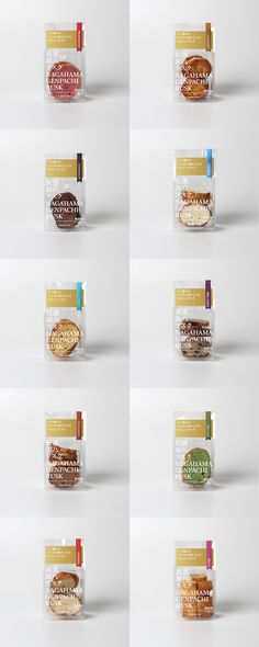 長濱源八ラスク – Masahiro Minami Design Salad Packaging, Dessert Packaging, Tea Packaging, Food Packaging Design, Brand Packaging, Branding Design, Packaging Ideas, Japanese Packaging, Organic Snacks