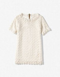 crochet dress; zara kids
