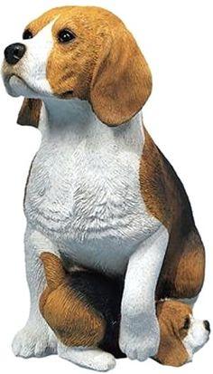 Beagle Figurines | Beagle Garden Statue Beagle Dog Beagle Outdoor Statue .