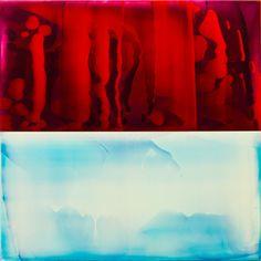 James Lumsden // Sarah Myerscough Gallery, London All Art, Galleries, Fabrics, Texture, London, Abstract, Artist, Red, Painting