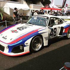 Porsche 935 at Nagoya Auto Trend  #porschemotorsport #porsche #935 #porsche935 #kamiwazajapan #1048style #euromagic #illest #rwb #rauhweltbegriff #rauhwelt #fatlace #stancenation #martiniporsche