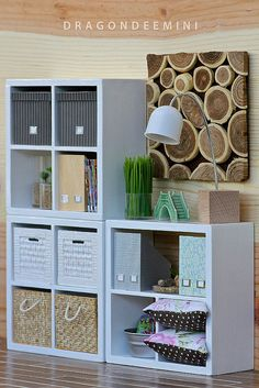 miniature bookshelves for living room - just awesome