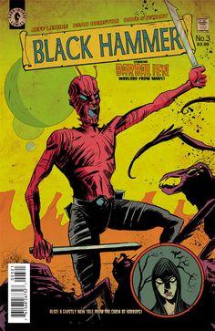 Preview: Black Hammer #3, Black Hammer #3  Story: Jeff Lemire Art: Dean Ormston…