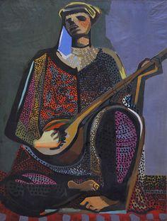 Bedri Rahmi Eyüboğlu (1911-1975) - TABLOLAR - TUREL ART COLLECTION-Tablolar
