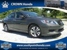 2015 Honda Accord LX Sedan - Crown Honda of Southpoint: https://www.southpointhonda.com/used-inventory/index.htm