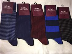 Men Cotton Dress Crew Socks 4 Pairs Pack Made in Turkey html Brand Asorted NW #HTML #mensocks #cottonsocks #giftforhim #fatherday #fatherdaygift