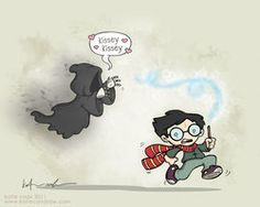 potter vs the dementor's kiss by *katiecandraw on deviantART