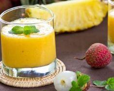 Smoothie minceur ananas, mangue et litchi : http://www.fourchette-et-bikini.fr/recettes/recettes-minceur/smoothie-minceur-ananas-mangue-et-litchi.html