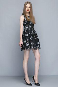 macaronfashion style http://www.macaronfashion.com/dresses/lace-covered-black-dress.html