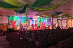 Weird Animals VBS Grace Point Church  Abilene, TX Main Stage