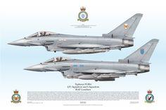 Typhoon FGR4, 1(F) Squadron and 6 Squadron, RAF Leuchars
