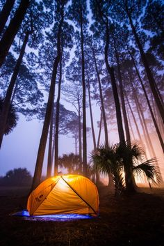 Camping on Hunting Island (South Carolina), by Serge Skiba on 500px