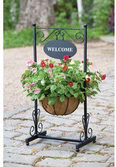 ShopStyle.com: Blacksmith Welcome Planter $49.99