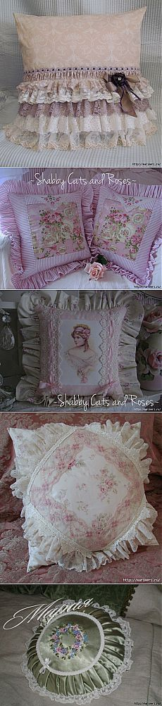 This Pin was discovered by Sam Lavender Crafts, Homemade Pillows, Doll Beds, Pillow Tutorial, Shabby Chic Pink, Sewing Pillows, How To Make Pillows, Quilted Pillow, Toss Pillows