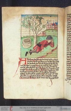 Cod. Pal. germ. 85: Antonius von Pforr: Buch der Beispiele (Schwaben, um 1480/1490), Fol 173v