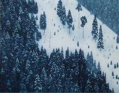 Kaii Higashiyama / 東山魁夷 『春雪』