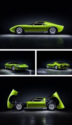 Visit The MACHINE Shop Café... ❤ The Best of Lamborghini... ❤ (1968 Lamborghini Miura S)