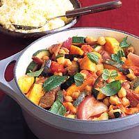Recept - Marokkaanse groentestoofpot met kikkererwten - Allerhande