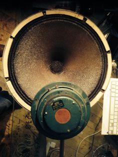 Altec 755 C, Tesla bass loudspeacer, Alnico, Zeiss Icon 1948 style Horn Speakers, Best Speakers, Audio Speakers, Best Loudspeakers, Vacuum Tube, Zeiss, Box, Green, Vintage