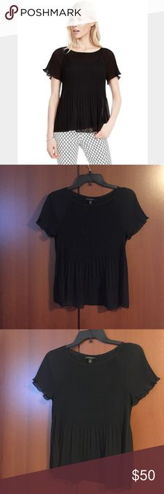 Banana Republic || Pleated Top Beautiful sheer short sleeve pleated top. Can dress up or down. Never worn - no imperfections. New without tag! Banana Republic Tops Blouses