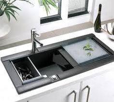 Top 5 Kitchen Sink Ideas For Modern Kitchen Interior Design Corner Sink Kitchen, Kitchen Sink Design, Interior Design Kitchen, Nice Kitchen, Cheap Kitchen, Kitchen Designs, Kitchen Ideas, Contemporary Kitchen Sinks, Modern Kitchen Interiors