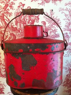 Gold Miners lunch box 1800's John Reed