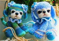 -Crochet Felted Puppy Pattern Dog Toy Amigurumi Baby Child Gift Cute ...
