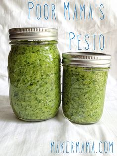 Poor Mama's Pesto Recipe