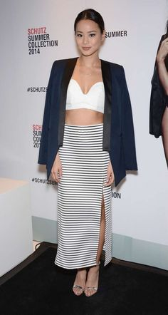 Jamie Chung – 2014 Schutz Summer Collection Launch in NY