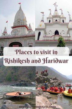 There are some interesting places to visit in Rishikesh and Haridwar other than visiting religious places, which are anyways in most people's itinerary. Places To Travel, Places To See, Rishikesh India, India Travel Guide, Haridwar, North India, Hill Station, Travel Information, Incredible India
