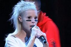 Die Antwoord performing on Late Show with David Letterman via Pitchfork.